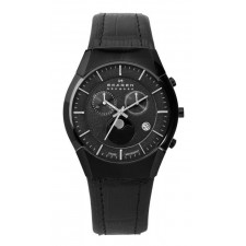 Мужские часы Skagen 901XLBLB Leather Swiss
