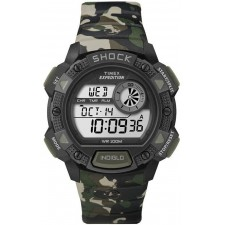 Мужские часы Timex T49976 Expedition Base Shock с хронографом